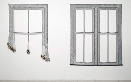 Olivia Valentine - Lace Installations