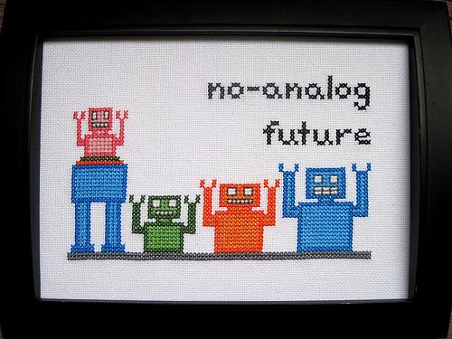 Too Cute Tuesday – No-analog future by krupp