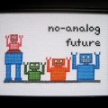 Krupp - No Analog Future - Cross Stitch