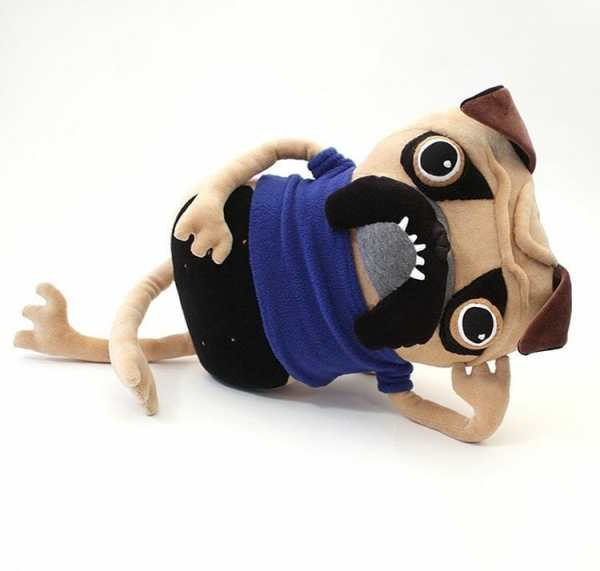 Cotton Monster Pugbert Plush