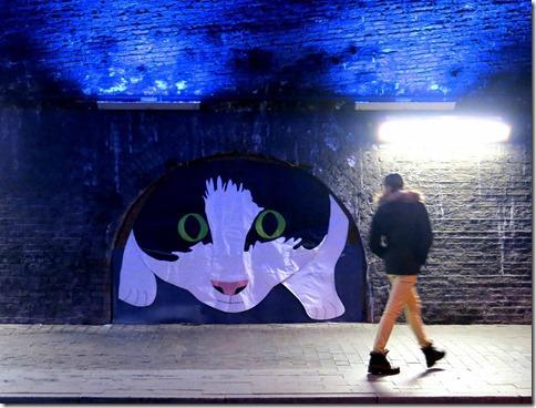 Charlie Rollo-Walker's gigantic textile cat!