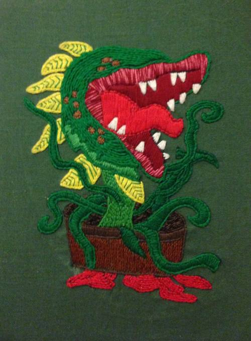 Craftster Pick of the Week – DithMer's Audrey 2!
