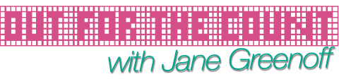 Out for the Count with Jane Greenoff - exclusive to Mr X Stitch!