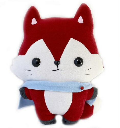 Too Cute Tuesday – Kitsu Fox by Teacup Lion