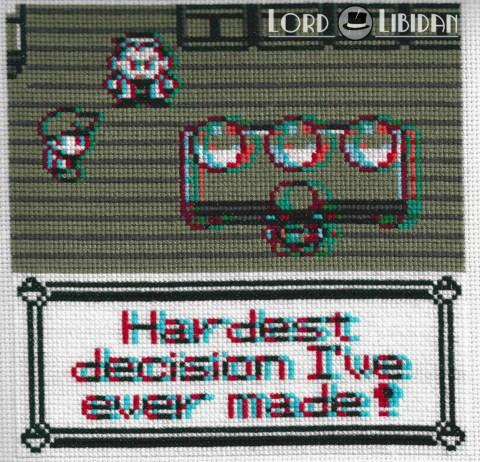 Lord Libidan - 3D Pokemon Cross Stitch