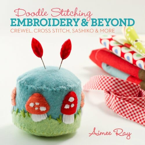 Book Review – Doodle Stitching – Embroidery & Beyond by Aimee Ray