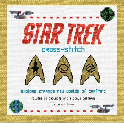 Book Review – Star Trek Cross Stitch by John Lohman