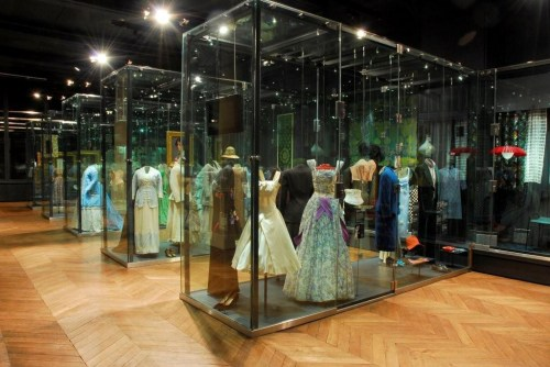 The Bowes Museum textiles & dress gallery Copyright The Bowes Museum