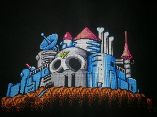MegaMan 2 Castle by maliciousbacon