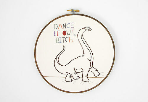 Too Cute Tuesday – Dance it out, Dinosaur by Sarah Hennessey