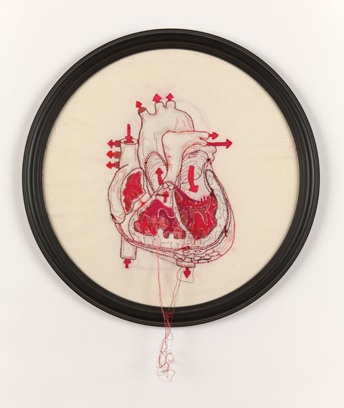 Stitchgasm! – Megan Canning's Anatomical Heart
