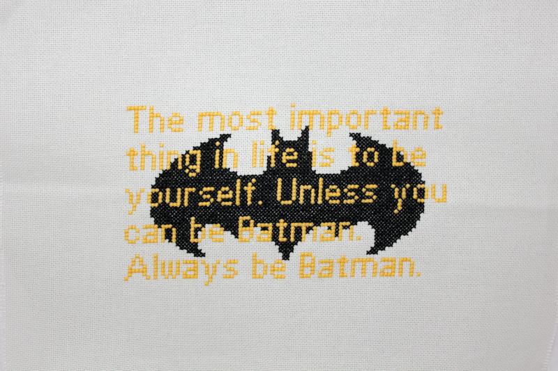 Stitchgasm – Always Be Batman