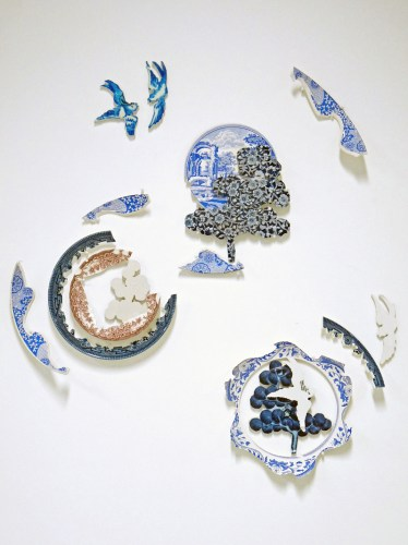 Harriet Lawton - Ceramic Collage