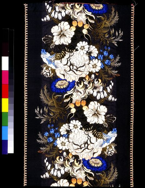 Ribbon woven in Coventry. (c) V&A