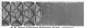 Der Bazar pleated fold illustration