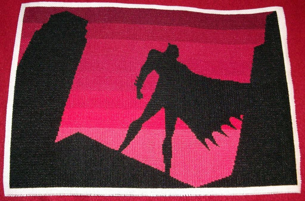 Craftster Pick of the Week – Krafty Karusu's Batman Cross Stitch