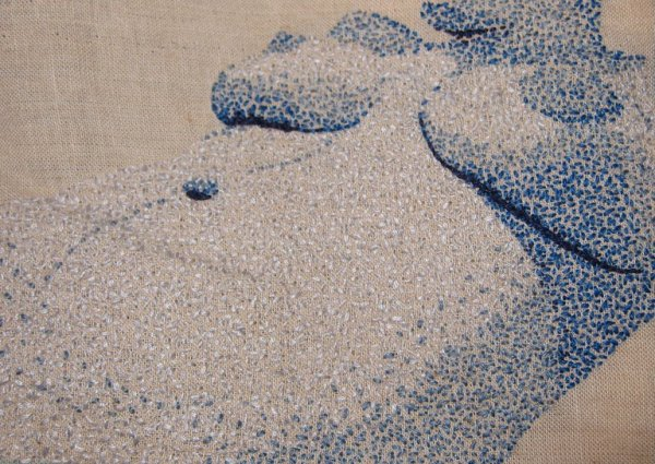 MeaganIleana - Untitled - Hand Embroidery (2010)