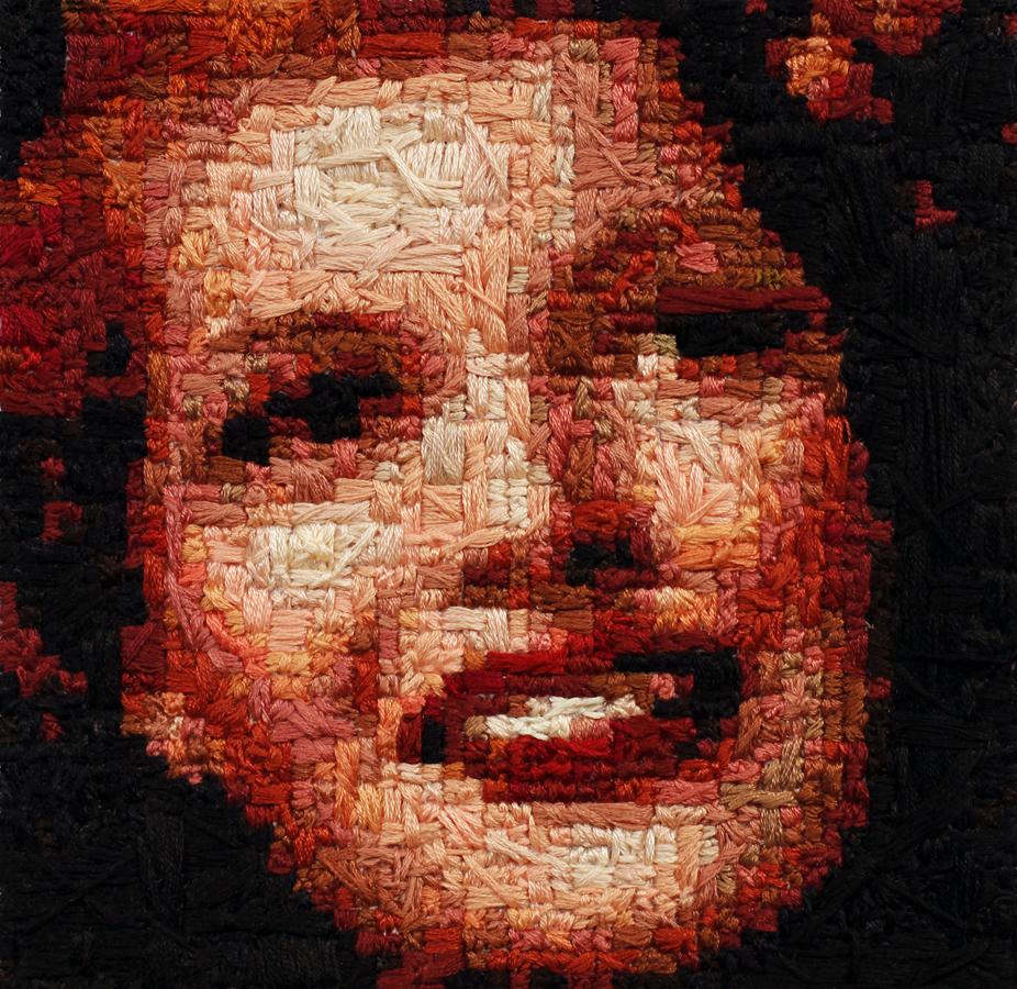 Stitchgasm! – Rita Hayworth by Jean-Pierre Séguin!