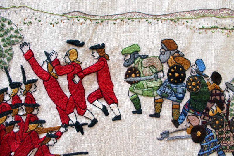 The Cutting (& Stitching) Edge – The Great Tapestry of Scotland