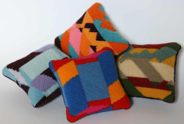 POMPOM - Mini Cushion Needlepoint Kits