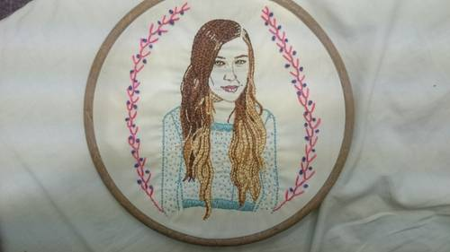 Marley Miss' Joanna Newsome Embroidery