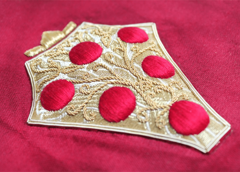 Sequintial Art – Embroidery for Costume Steps Up