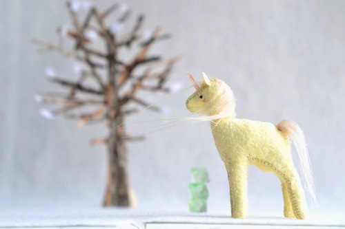 Crystal Pony by Sabina Gibson (Soft Sculpture)