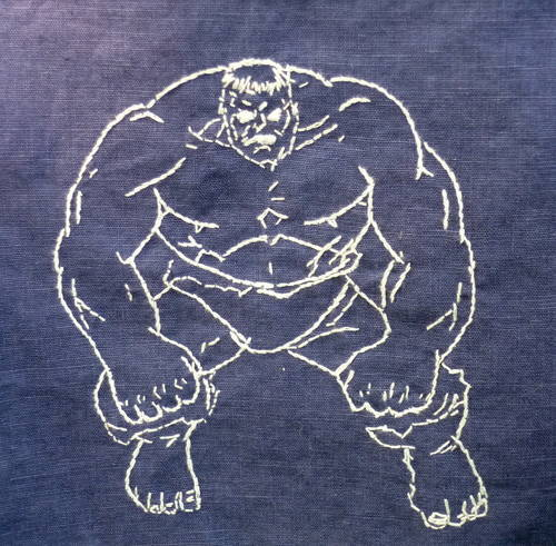 Craftster Pick of the Week – Superhero Napkins