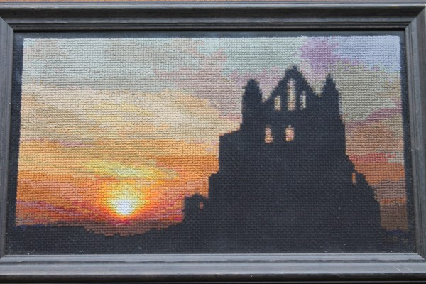 Mr X Stitch - Whitby Abbey Cross Stitch