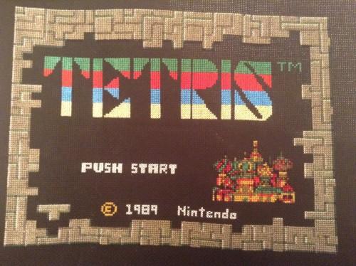 Tetris by Batboard