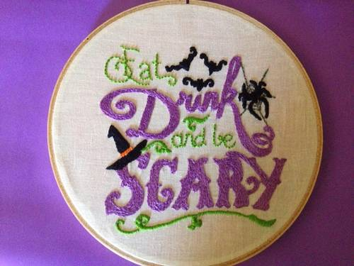 Craftster Pick of the Week – Lindyv321's Halloween Hoop