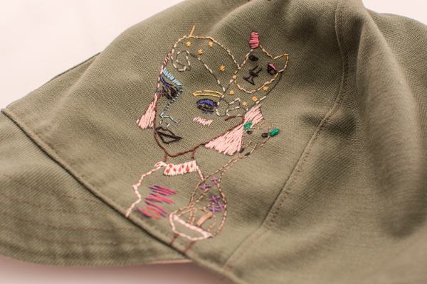 I found this handmade hat in Shimokitazawa during our trip last February.