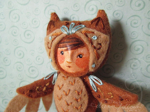 Too Cute Tuesday – Owlet Child by Aimee Ray