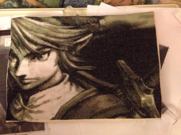 Grey Scale Link by Arimentha