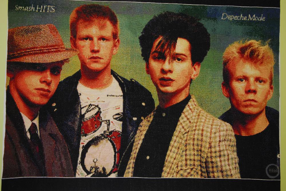 Stitchgasm – Natasha's Epic Depeche Mode Cross Stitch