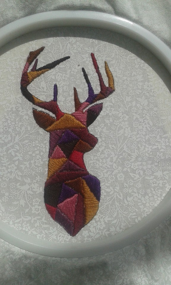 Craftster Pick of the Week – MoriarT's Stag Head