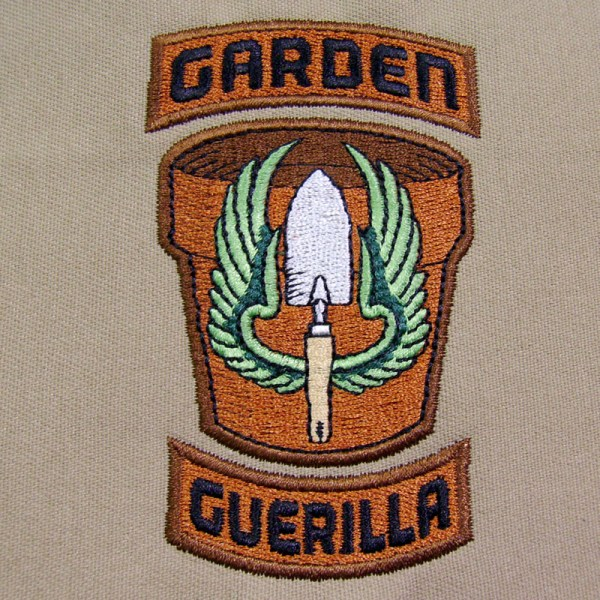 Garden Guerilla Patch-Styled Desgn by Erich Campbell