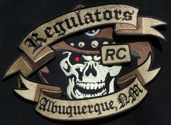 Regulators Custom Shaped Patches, TIght Stack