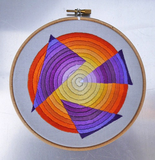 Variations on a Theme No. 2 by The Grumpy Crafter (Hand Embroidery)