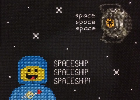 space spaceship by stitchingmama