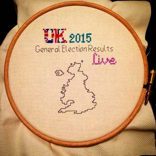 Stitchgasm – #UK2015GeneralElectionResultsLiveStitch