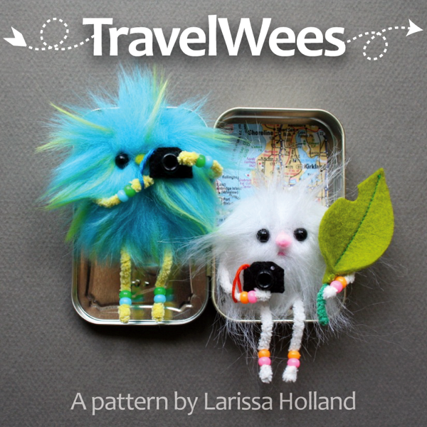 Travel Wees pattern by Larissa Holland