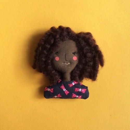 Custom Portraits by Ria Paramita (Soft Sculpture)