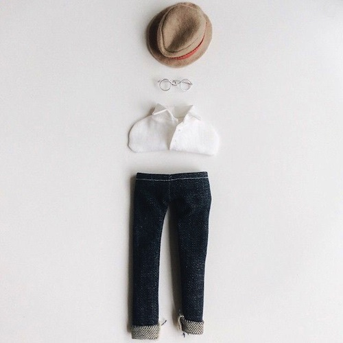 Custom Portrait Clothing by Ria Paramita