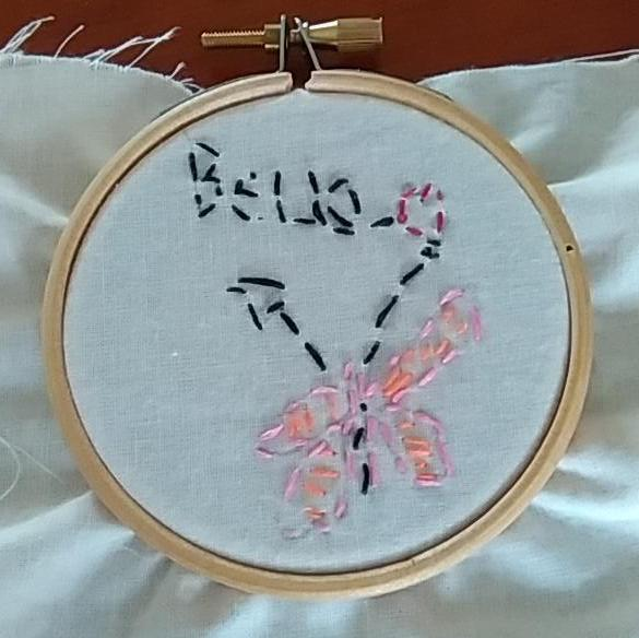 Bella's First Hand Embroidery