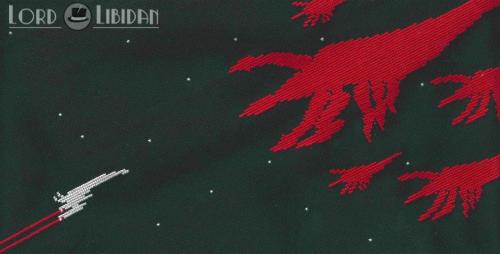 Lord Libidan - Mass Effect 2 - Cross Stitch