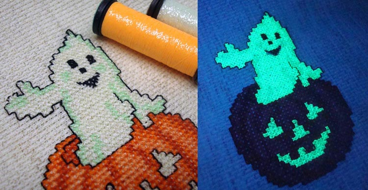 Ghost in the embroidery machine