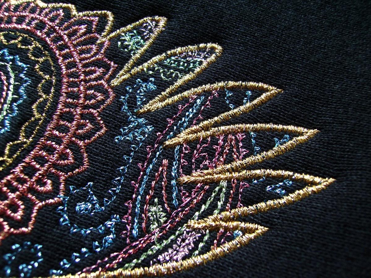 machine embroidery stitches