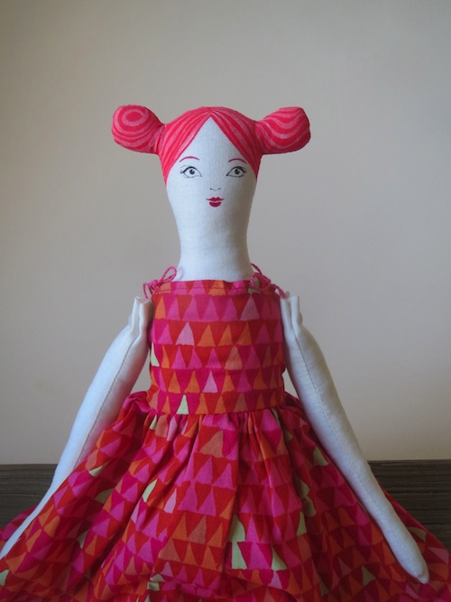 La La La Lollipop Lassy Doll by Alia Grace Dolls (Soft Sculpture)