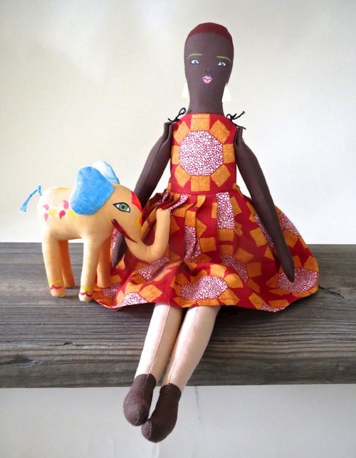 Gentle Woman Doll by Alia Grace Dolls (Soft Sculpture)
